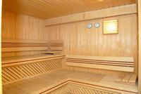 Sauna and solarium